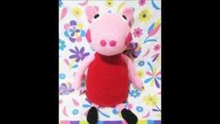Los Amigus de Paloma: Peppa Pig Amigurumi (Patrón Gratis) | Peppa ... | 180x320