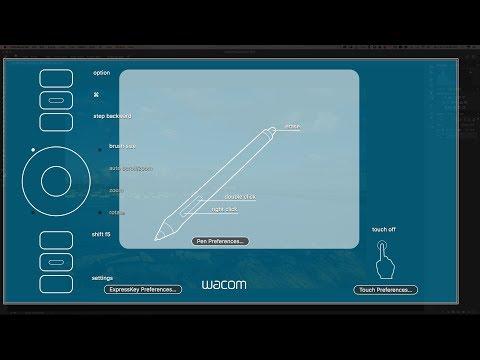 My Wacom Tablet Settings