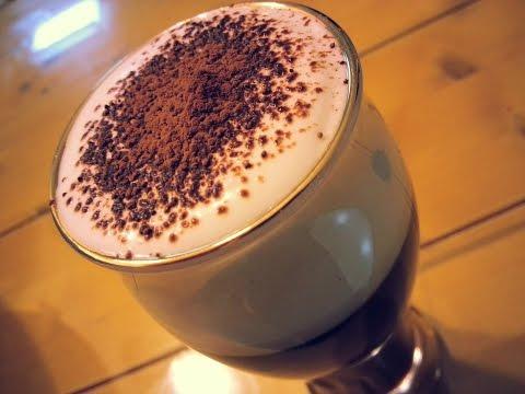 How to make an Irish Coffee (non-alcoholic) 아이리쉬 커피 (무알콜) 만들기