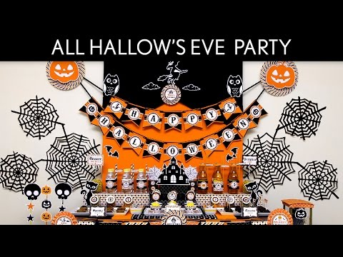 All Hallow's Eve Holiday Party Ideas // All Hallow's Eve - H6