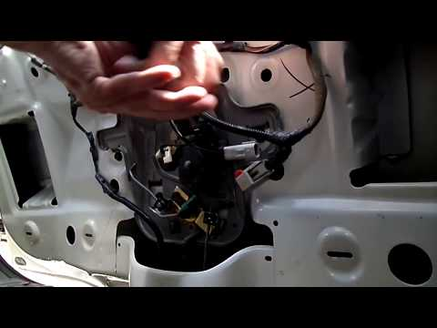 PT Cruiser Liftgate Actuator Removal