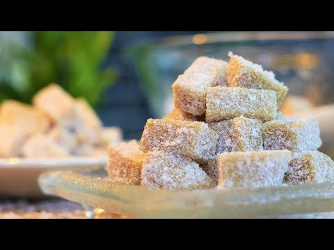 Soft Ginger Candy Snack Chinese Dessert Recipe [ 姜汁软糖]