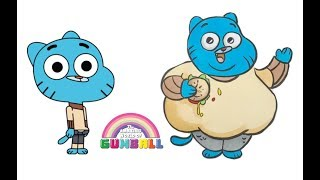 GUMBALL Characters as Fat