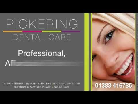 Pickering Dental Care Fife for FREE TOOTH WHITENING in Fife for new private patients