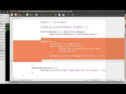 Java Programming Tutorial 49 - Creating Socket Application to Send multiple Data to Server