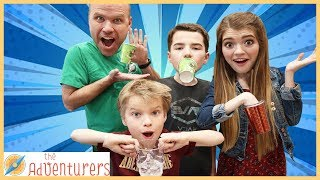 Download Family Fun Challenge Can You Hold A Cup Like This? / That YouTub3 Family Video