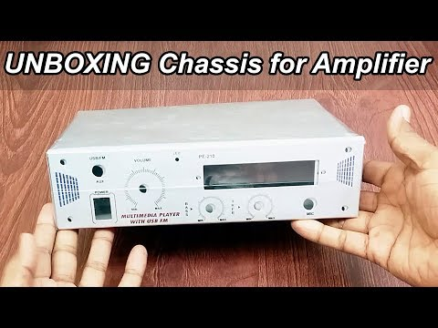 Unboxing Chassis for Amplifier (Cabinet) Requested Video ( Hindi Electronics ) ELECTRO INDIA