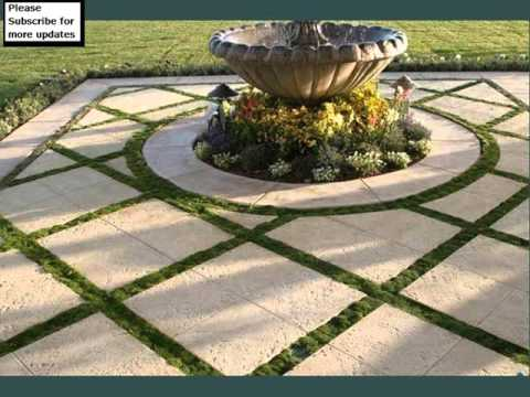 Grass And Pavers Design Collection | Landscape Pavers Grass