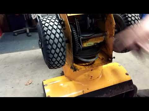 Brute snowblower part 1.5 belt fail