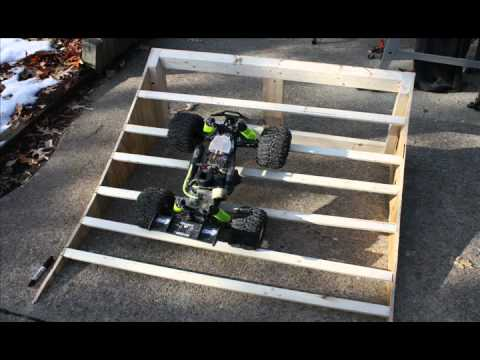 How To Build / DIY RC Ramp & Skateboard Ramp
