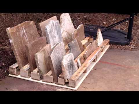 DIY Tombstone Rack