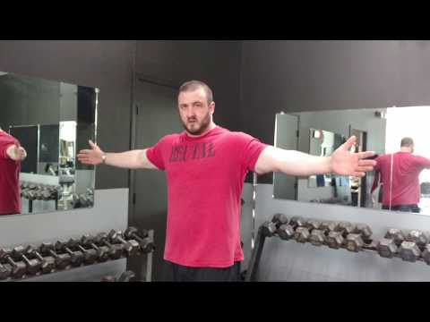 Brutal Iron Gym - T-Hold Thoracic Rotations for Postural Correction (see description)