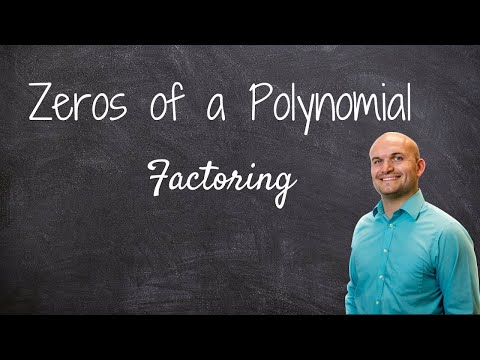 Master - How to find the zeros of a polynomial function by factoring and determine multiplicity