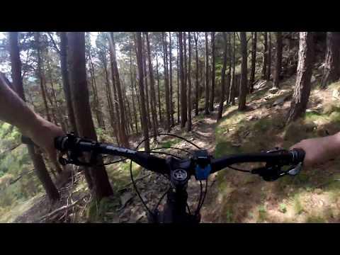Cademuir forest adventures in 4K - MTB Scotland