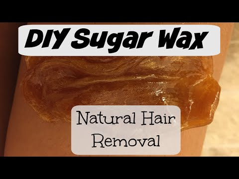 Natural Hair Removal | How To Make Sugar Wax