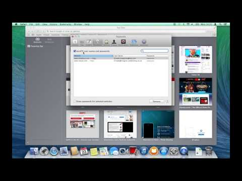 Save and manage passwords in Safari