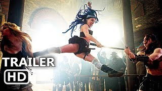 BABES WITH BLADES Official Trailer (2017) Action Movie HD