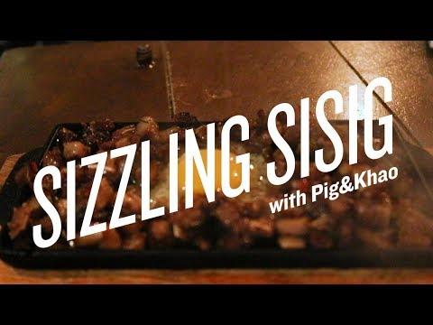 Sizzling Sisig