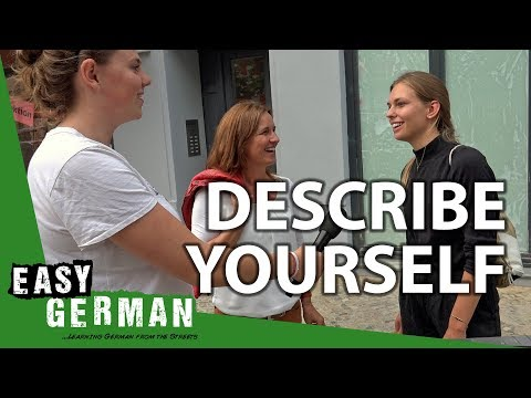 Describe yourself with 3 Words | Easy German 211