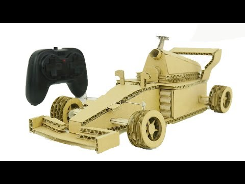 How to Make Amazing F1 Racing Car from Cardboard