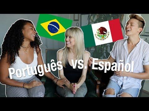 Portuguese vs Spanish with DamonAndJo!