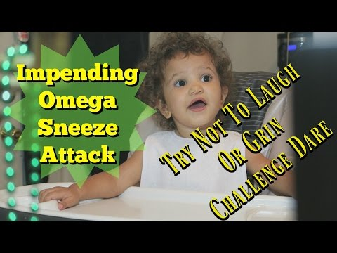 Try Not To Laugh or Grin Videos: Funniest Baby Omega Sneeze Attack | Monday Blues Cure | MokenchiTV