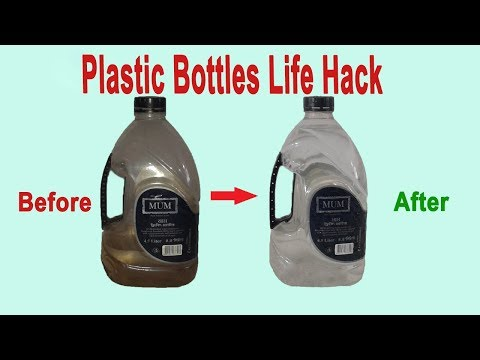 How to Clean Inside of a Plastic Bottle Without  Brush