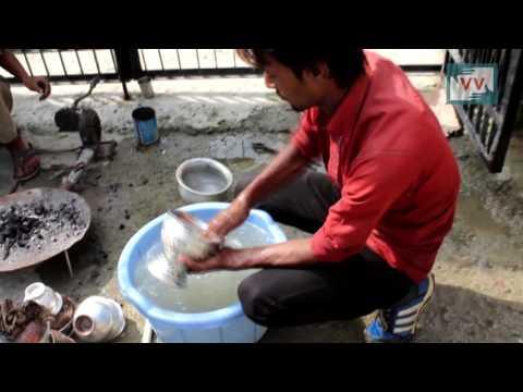 Kalaiwalas of Delhi Bring Shine to the Kashmiri Copper Utensils