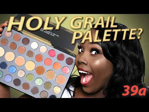 Morphe 39a Palette REVIEW (Full Review + Tutorial)