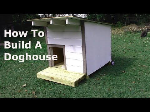 Build A Cool Modern Style Dog House for Under $50