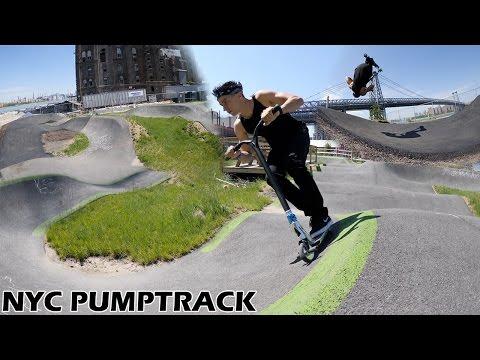CONCRETE PUMP TRACK IN NEW YORK?!?!