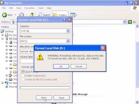 Disk Format - Convert File System