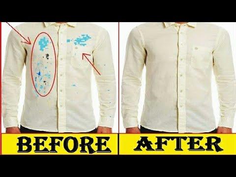 How to Remove Colour Stains From New Shirt-घर पर नई शर्ट से रंग दाग कैसे निकालें