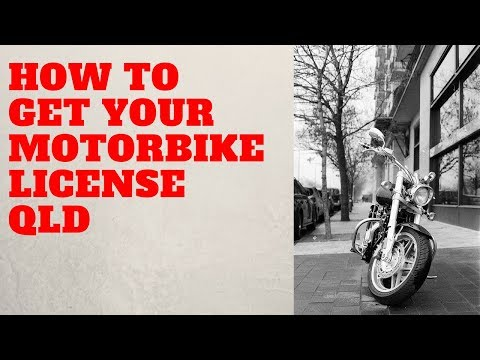 How to get your motorbike licence in QLD