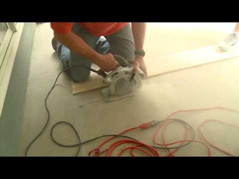 How To Cut Concrete for A Decorative Patio