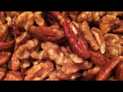 keto: CANDIED NUTS, HOLIDAY RECIPE!