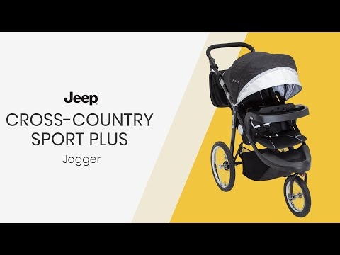 J is for Jeep® Brand Cross-Country Sport Plus Jogger