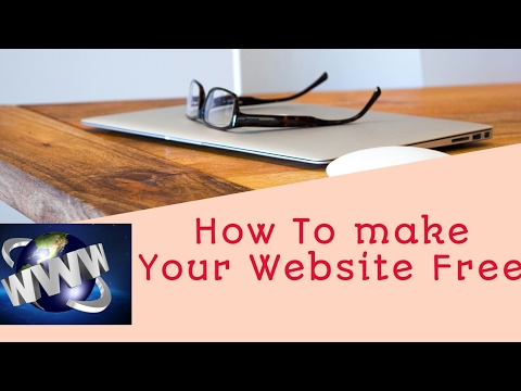 How To Create your Own Free Website | 100% working free | full details