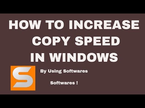 How To Increase Copy Speed In Windows 7/8/8.1/10