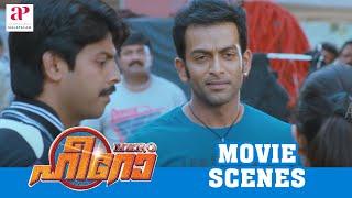 Malayalam Movie   Hero Malayalam Movie   Prithiviraj   Yami Gautam's Daring Stunt Attempt   1080P HD