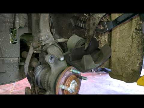 Front brake pad replacement 2007 Mazda 6 Install, remove or replace rotor