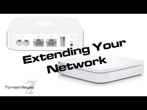 Extending Your Home Network Using Apple's AirPort Extreme & Express - How To