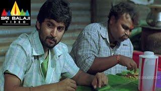 Bheemili Kabaddi Jattu Movie Dhanraj Eating Parota Scene   Nani, Saranya Mohan   Sri Balaji Video