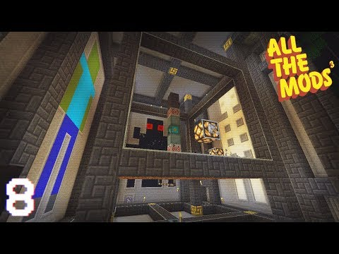 All The Mods 3 | Powered Spawners & Sacrificial Chamber! | E08 (All The Mods 3 Let's Play)
