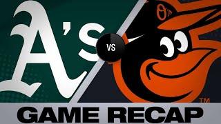 Profar, Semien homer in rout of Orioles - 4/9/19