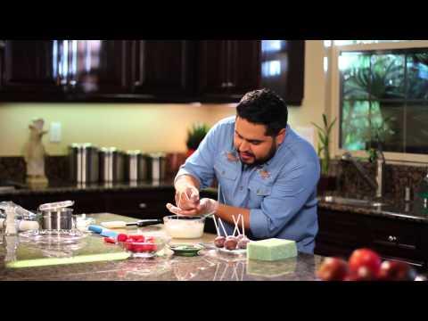 Receta de Cake Pops de Fútbol - ZYRTEC® Dissolve Tabs para  Alivio de Alergias