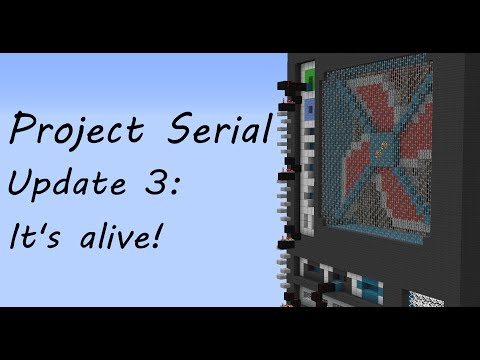 Project Serial Update 3