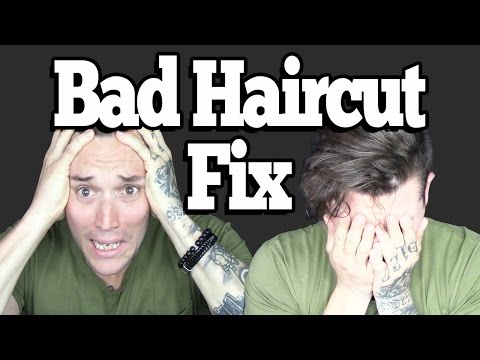 How To Fix A Bad Haircut Quickly (Do This)