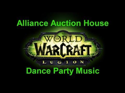 Alliance Auction House Dance Party Music - Legion Music