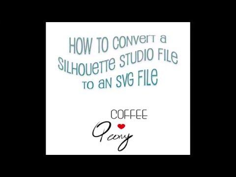 Silhouette Studio: Convert to SVG